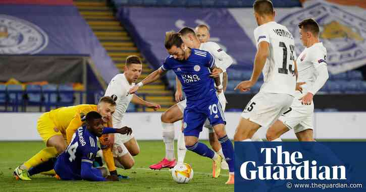 Leicester off to perfect start with comfortable victory over Zorya Luhansk