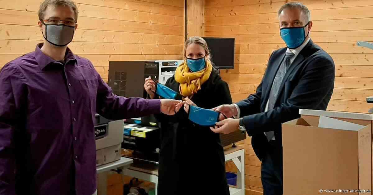 Usingen: Städtische Mitarbeiter bekommen Alltagsmasken - Usinger Anzeiger