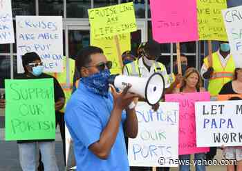 Rally at Port Canaveral pushes return to cruises by ending federal 'no-sail' order