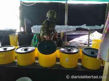 Ejército destruyó laboratorio para el procesamiento de cocaína en San Calixto, Norte de Santander - Diario La Libertad
