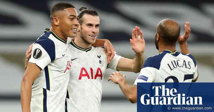 Gareth Bale helps Tottenham ease to Europa League win against Lask