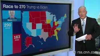 John King: The map gives Trump and Biden these options