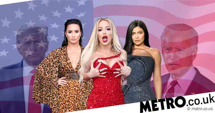 Trump vs Biden: How celebs will impact the US election – from Kylie Jenner's bikini pics and Demi Lovato's hit song to Tana Mongeau's nudes
