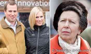 Princess Anne Christmas heartbreak as she's forced to choose between Zara Tindall & Peter
