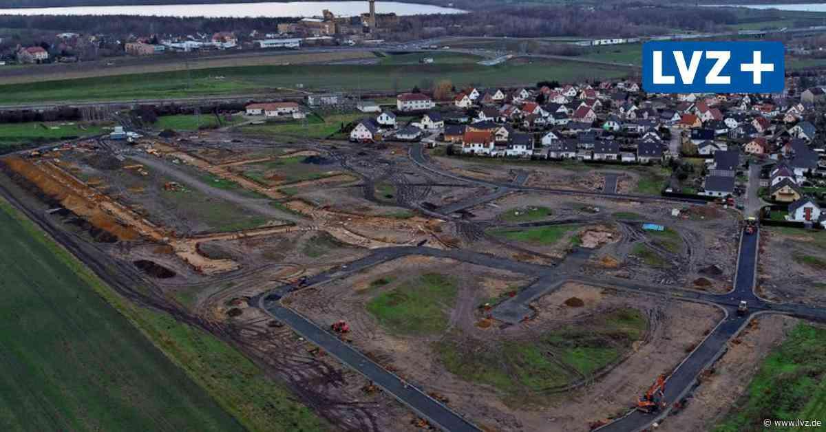 Bau des neuen Wohngebiets in Borna sorgt für Ärger: 30-Tonner in Kesselshain - Leipziger Volkszeitung