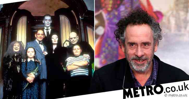 Tim Burton 'is creating an Addams Family TV series' and we cannot cope