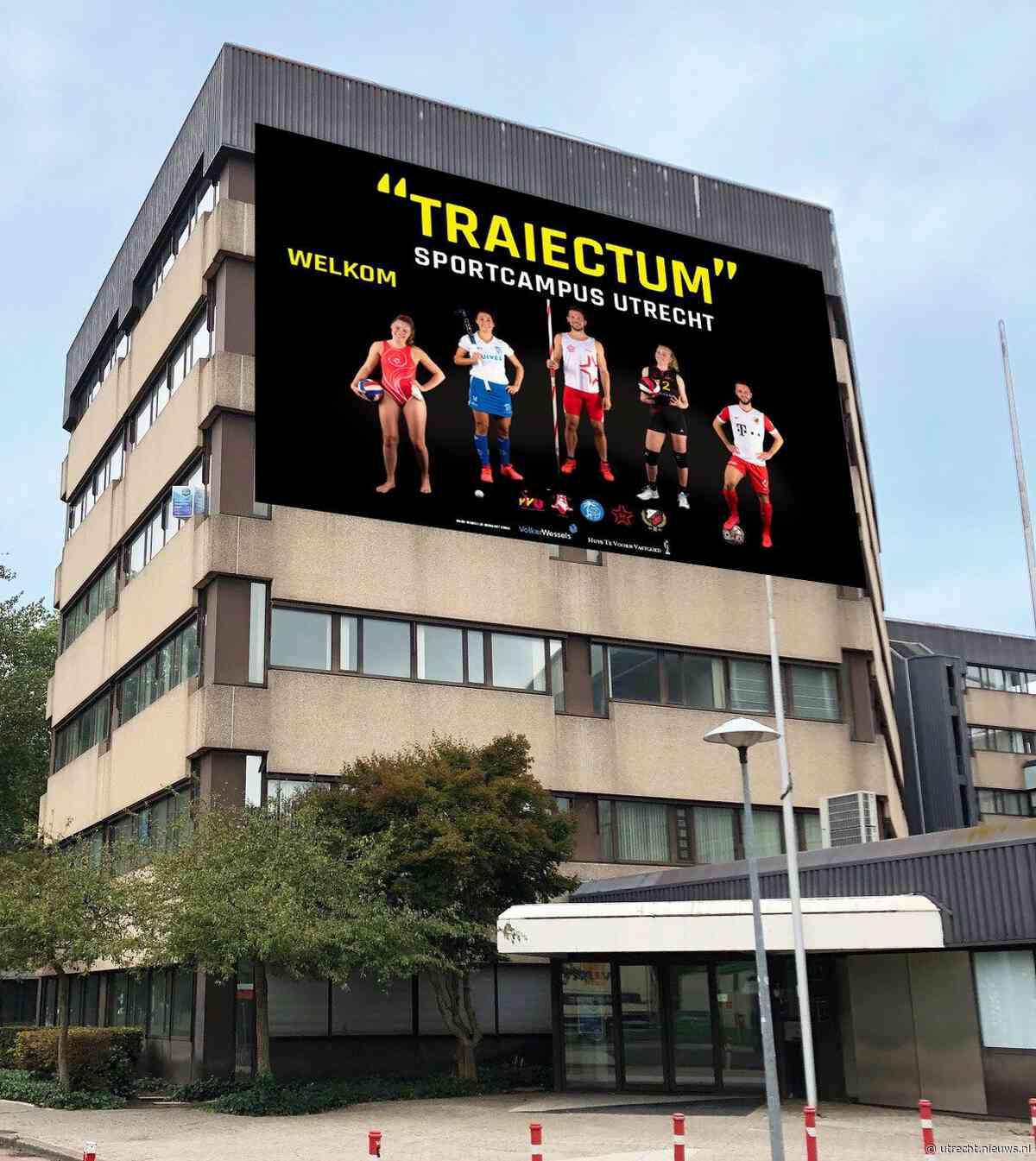 Traiectum wordt de naam van de Sportcampus in Maarschalkerweerd - Utrecht - Nieuws.nl