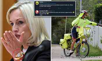 Christine Holgate to be paid $110,000 a month as she is suspended as Australia Post CEO