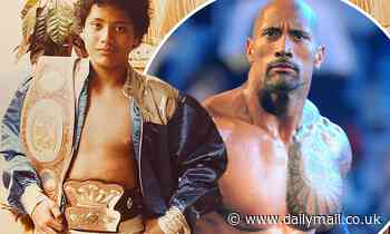 'The Rock' shares a throwback shot of himself at 11 'dreaming of becoming a pro wrestling champion'