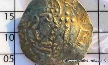 Ultra-rare 900-year-old coin found in a farmer's field is set to fetch up to £7,000 at auction