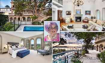 Inside the Rose Bay mansion previously owned by Barry Humphries as goes on the market for $45million