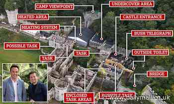 I'm A Celebrity FIRST LOOK: Fans get a glimpse of revamped Gwrych Castle