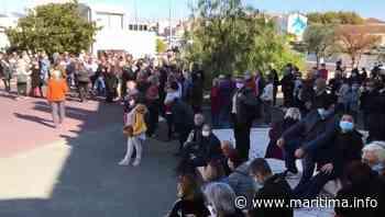 Martigues - Société - Martigues : le rassemblement contre la barbarie vient de commencer - Maritima.info