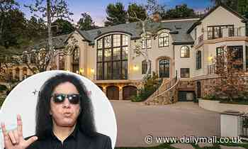 Gene Simmons puts longtime Beverly Hills mansion up for sale for a whopping $22M