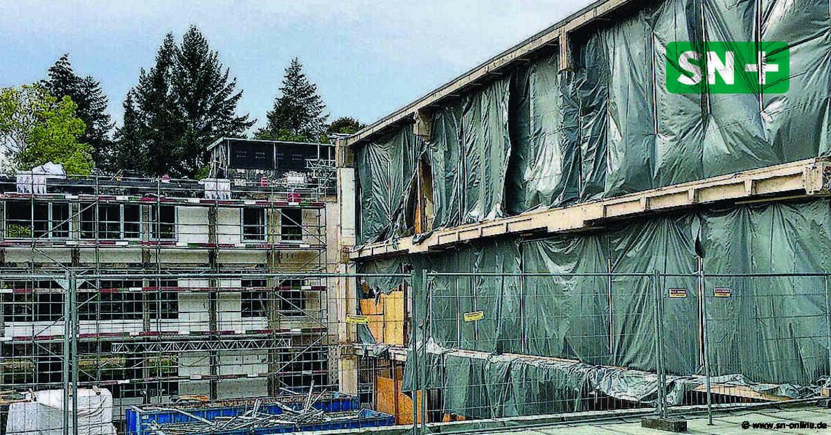 Arbeiten auf ehemaligem Klinikgelände in Stadthagen gehen voran - Schaumburger Nachrichten