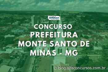 Concurso Prefeitura de Monte Santo de Minas MG abre inscrições para 480 vagas - alfaconcursos.com.br