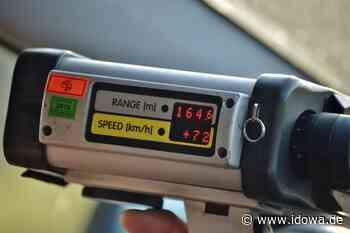 Zu schnell durch Kollnburg: Oberbayer ist mit 185 km/h der Spitzenreiter - idowa
