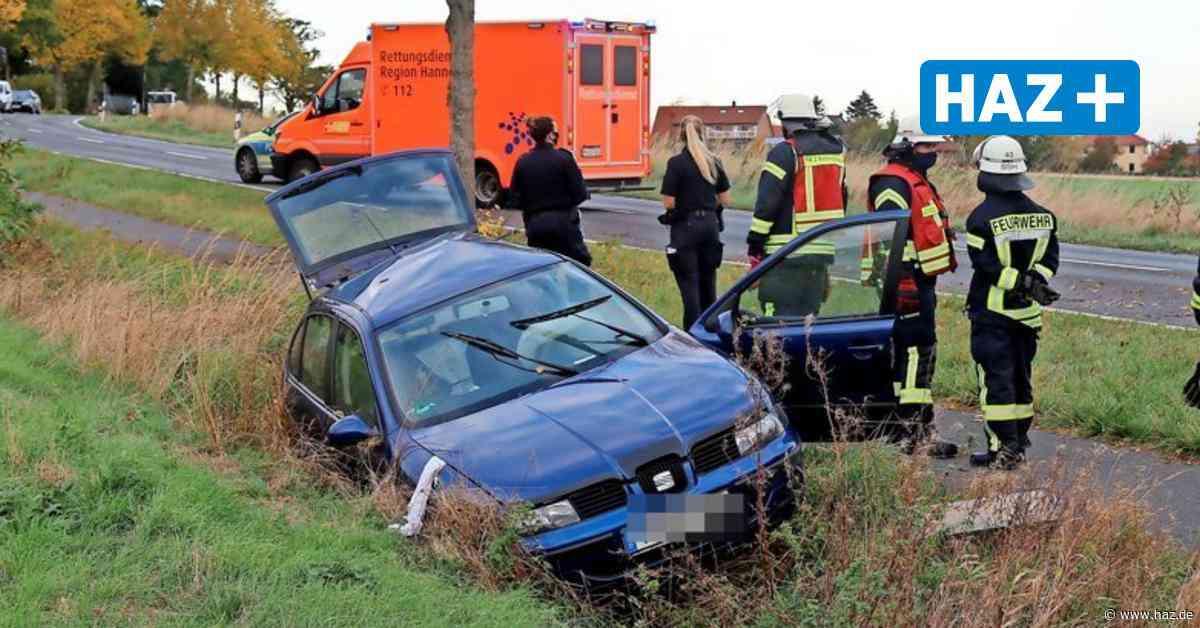 Barsinghausen: 29-jähriger Autofahrer bei Unfall schwer verletzt - Hannoversche Allgemeine