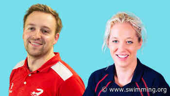 Swimming coaches Emma and Paddy named as finalists in UK Coaching Awards October 22nd 2020 - The Home of Swimming | Swimming.org
