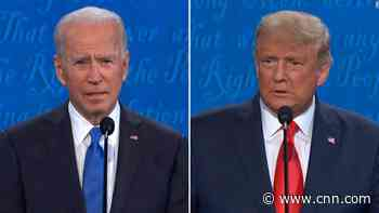 Trump's response about responsibility stirs up Biden