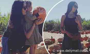 Nikki Bella picks infant son Matteo's 'first pumpkin' with help from niece Birdie ahead of Halloween