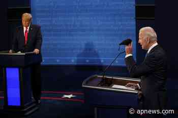 Trump, Biden go after each other on coronavirus, taxes - Associated Press