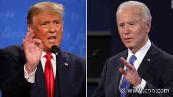 Coronavirus pandemic again dominates face-off between President Trump and Joe Biden