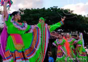 Danzas folclóricas en honor a Santo Domingo de Guzmán en el Puerto Salvador Allende - TN8 Nicaragua