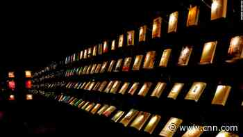 At this bookstore in Taiwan, visitors shop in the dark