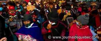 Colombie: manifestation d'indigènes contre le gouvernement à l'aéroport de Bogota