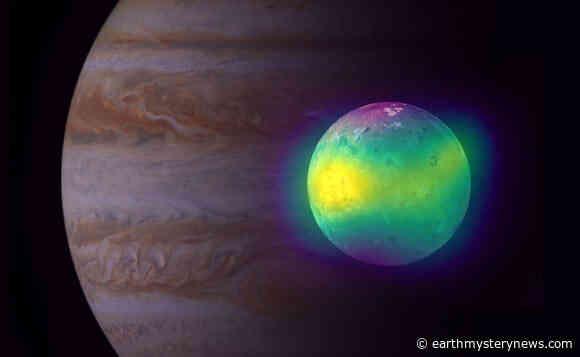 ALMA Spots Volcanic Plumes on Jupiter's Moon Io