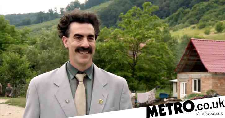 When does Borat 2 drop on Amazon Prime and which celebrities are in it?