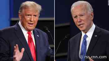 CNN Poll: Biden wins final presidential debate