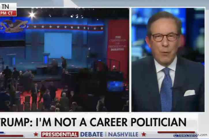 Fox News' Chris Wallace is 'jealous' of the final presidential debate