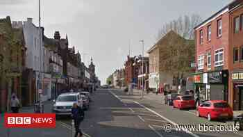 Fireworks thrown at West Bromwich crowd hits police officer