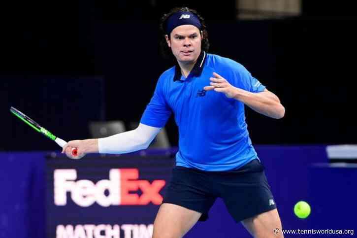 ATP Antwerp: Marcos Giron tops David Goffin. Milos Raonic and Karen Khachanov advance