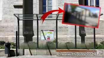 Erfurt: Frau sieht Bushaltestelle – eine Sache irritiert sie gewaltig - Thüringen24