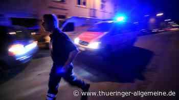 Schüsse in Erfurter Wohngebiet – Polizei sichert Patronenhülsen - Thüringer Allgemeine