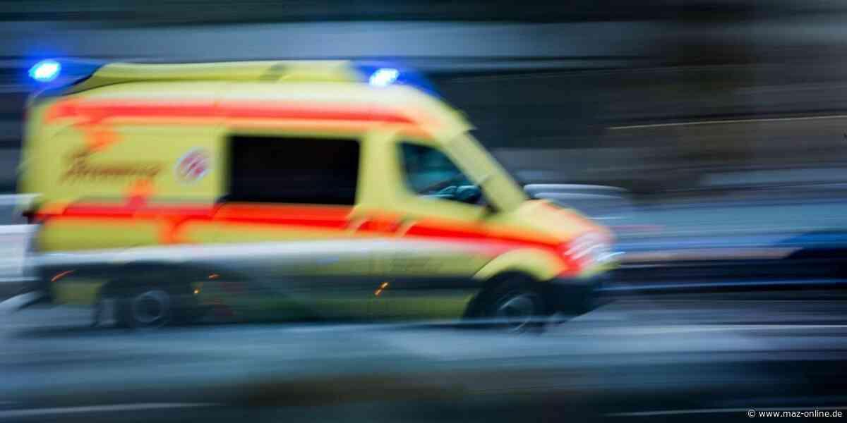 Dahlewitz: Unfall zwischen zwei Radfahrern - Märkische Allgemeine Zeitung