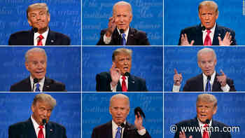 Biden and Trump's silent reactions spoke loudly