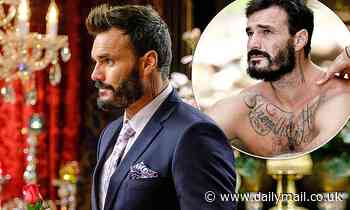 The Bachelor's Locky Gilbert reveals the secret meaning behind his neck tattoo