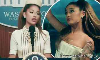 Ariana Grande takes over the White House in new music video for lead single Positions