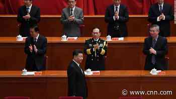 China's leader delivers thinly-veiled swipe at US during speech on Korean War