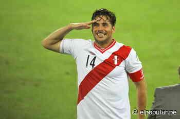 Pizarro celebró su gol en honor a Francisco Bolognesi - elpopular.pe