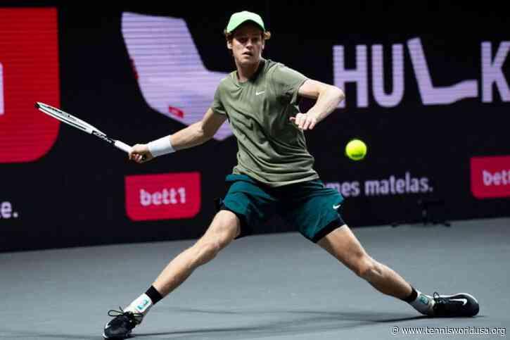 ATP Cologne 2: Jannik Sinner marches on. Gilles Simon downs Denis Shapovalov