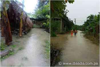 Lluvias en Chiriquí causa afectaciones a 56 familias en Barú y Alanje - Día a día