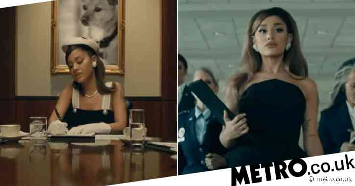 President Ariana Grande owns Oval Office as she releases Positions music video