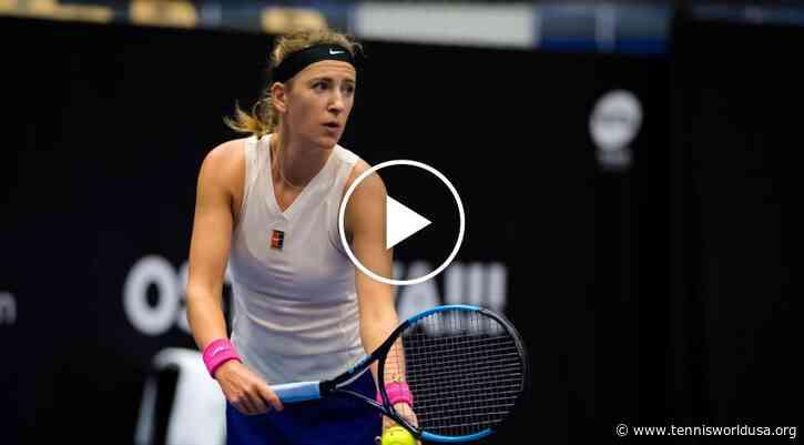 WTA Ostrava: Victoria Azarenka wins the most ... in the balance!