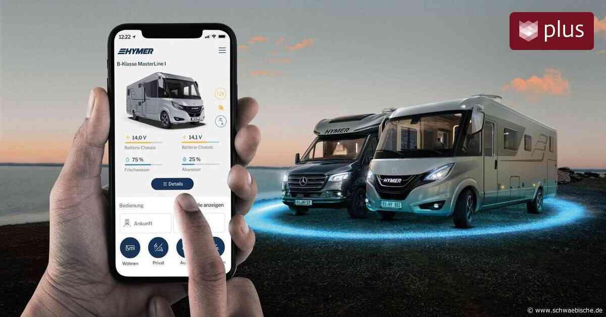 Reisemobil-Bordtechnik per Smartphone steuern: Hymer stellt neue App vor - Schwäbische