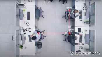 New technology wants to track you at the office to make sure you're social distancing